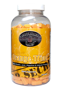 Orange TRIad - Multivitamin, Joint, Digestion, and Immune Supplement